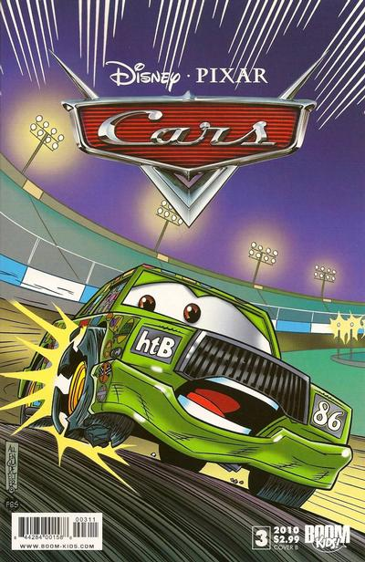 Cover for Cars (Boom! Studios, 2009 series) #3