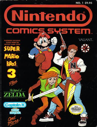 Cover for The Best of the Nintendo Comics System (Acclaim / Valiant, 1990 series) #1