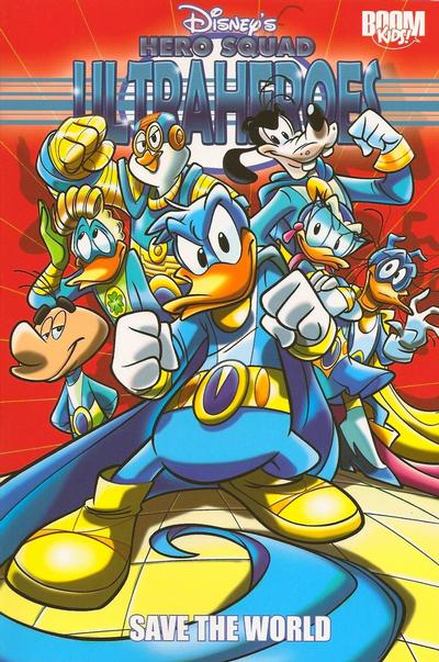 Cover for Disney's Hero Squad: Ultraheroes (2010 series) #1 - Save the World