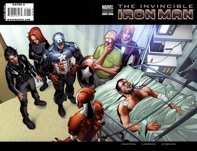 Cover for Invincible Iron Man (2008 series) #22