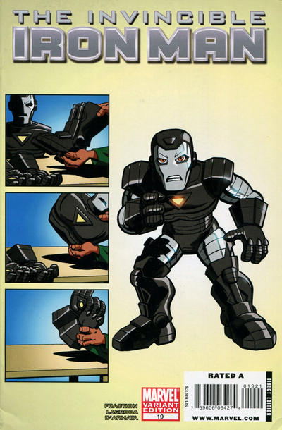 Cover for Invincible Iron Man (2008 series) #19