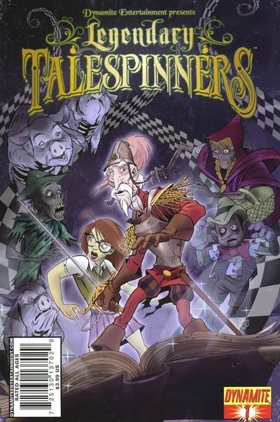 Cover for Legendary Talespinners (2010 series) #1 [Variant Cover]