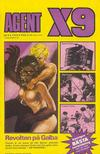 Cover for Agent X9 (Semic, 1971 series) #9/1974