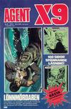 Cover for Agent X9 (Semic, 1971 series) #6/1976