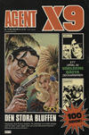 Cover for Agent X9 (Semic, 1971 series) #10/1980