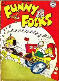 Cover for Funny Folks (1946 series) #7