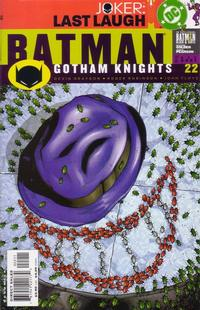 Cover Thumbnail for Batman: Gotham Knights (DC, 2000 series) #22