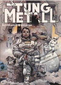 Cover Thumbnail for Tung metall (Epix, 1986 series) #6/1986