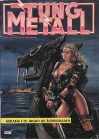 Cover Thumbnail for Tung metall (Epix, 1986 series) #7/1990 [49]