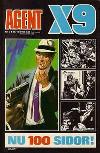 Cover Thumbnail for Agent X9 (Semic, 1971 series) #7/1971