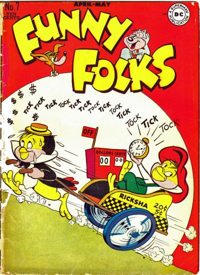 Cover for Funny Folks (DC, 1946 series) #7