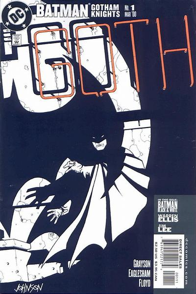 Cover for Batman: Gotham Knights (2000 series) #1