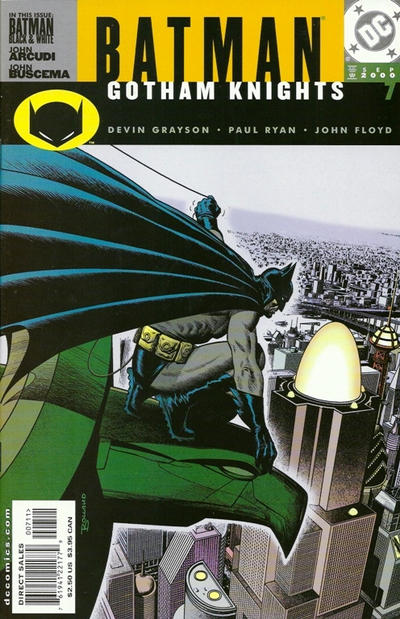 Cover for Batman: Gotham Knights (DC, 2000 series) #7