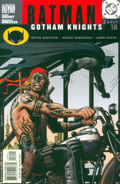 Cover for Batman: Gotham Knights (DC, 2000 series) #16