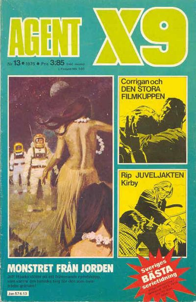 Cover for Agent X9 (1971 series) #13/1975
