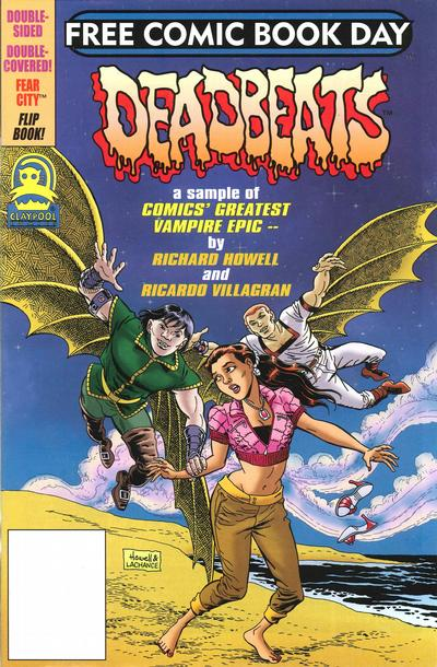 Cover for Free Comic Book Day [Soulsearchers and Company / Deadbeats] (Claypool Comics, 2006 series) #1