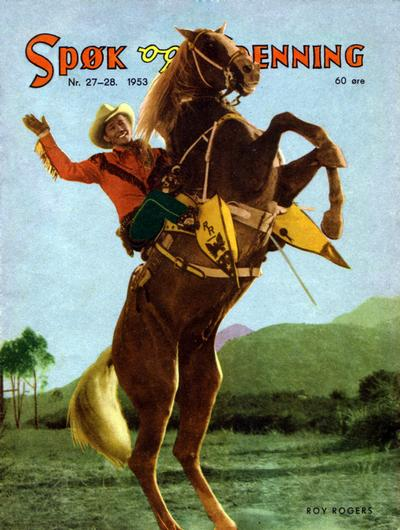 Cover for Spk og Spenning (1950 series) #27-28/1953