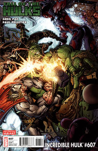 Cover Thumbnail for Incredible Hulk (Marvel, 2009 series) #607 [Second Printing]