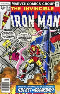 Cover Thumbnail for Iron Man (Marvel, 1968 series) #99 [35 cent cover price variant]