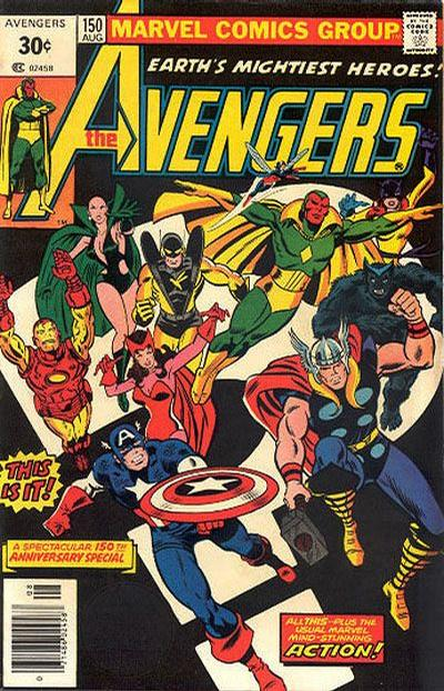 Cover for The Avengers (1963 series) #150 [25¢ Variant]