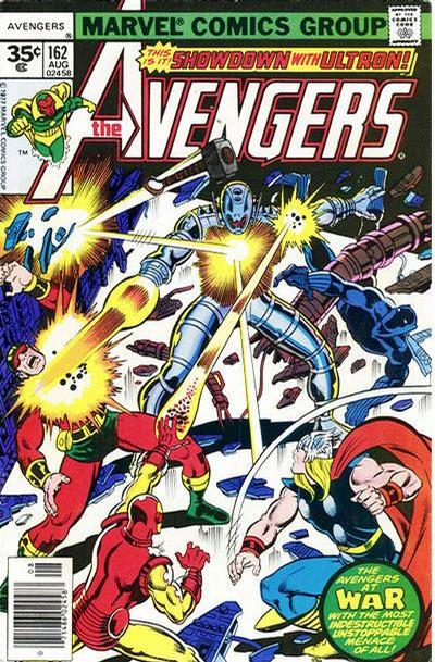 Cover for The Avengers (1963 series) #162 [30 Cover]