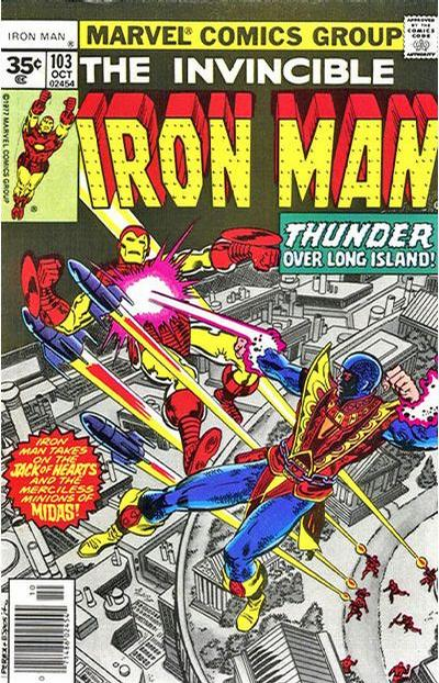 Cover for Iron Man (1968 series) #103 [30 cent cover price]