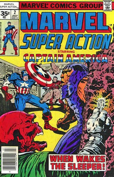 Cover for Marvel Super Action (1977 series) #2 [30 cent cover]