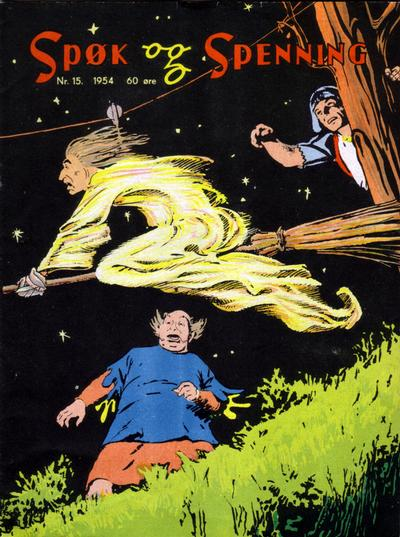 Cover for Spk og Spenning (1950 series) #15/1954