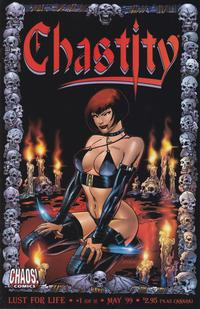 Cover Thumbnail for Chastity: Lust for Life (Chaos! Comics, 1999 series) #1