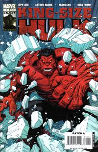 Cover Thumbnail for King-Size Hulk (Marvel, 2008 series) #1 [Art Adams Cover]
