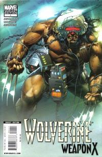 Cover Thumbnail for Wolverine Weapon X (Marvel, 2009 series) #1 [Kubert Cover]
