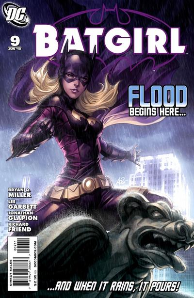 Cover for Batgirl (DC, 2009 series) #9