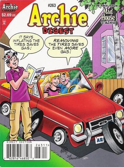 Cover for Archie Comics Digest (Archie, 1973 series) #263