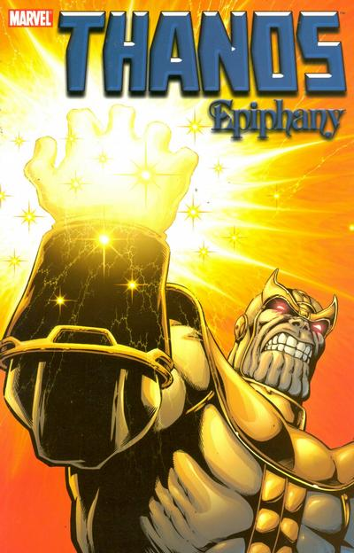 Cover for Thanos (Marvel, 2003 series) #4 - Epiphany