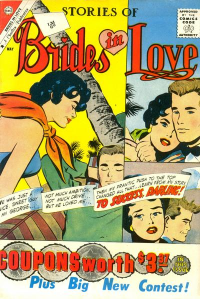Cover for Brides in Love (Charlton, 1956 series) #24
