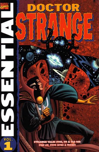 Cover for Essential Dr. Strange (Marvel, 2001 series) #1
