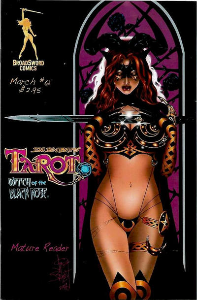 Cover for Tarot: Witch of the Black Rose (2000 series) #61 [Cover C]