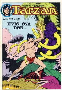 Cover Thumbnail for Tarzan (Atlantic Forlag, 1977 series) #8/1977
