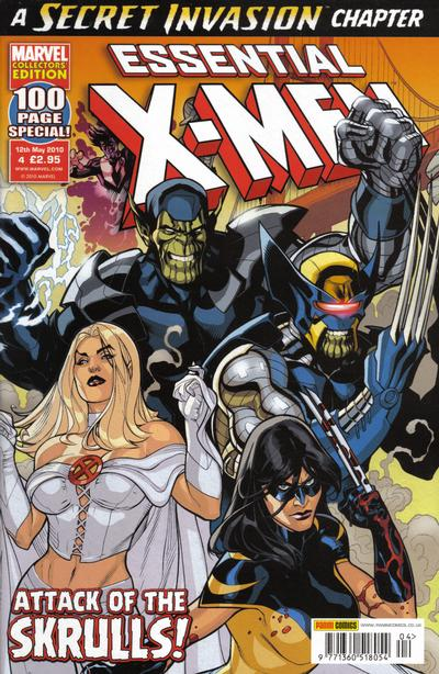 Cover for Essential X-Men (Panini UK, 2010 series) #4