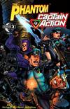 Cover for The Phantom - Captain Action (Moonstone, 2010 series) #2 [Cover A]