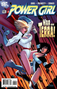 Cover for Power Girl (2009 series) #11