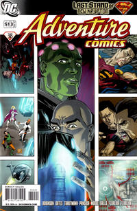 Cover Thumbnail for Adventure Comics (DC, 2009 series) #10 / 513 [Cover B]