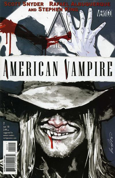 Cover for American Vampire (2010 series) #2 [2nd Printing]