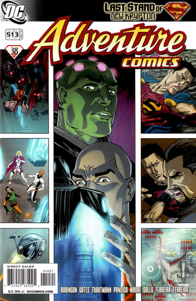 Cover for Adventure Comics (DC, 2009 series) #10 / 513 [Cover A]