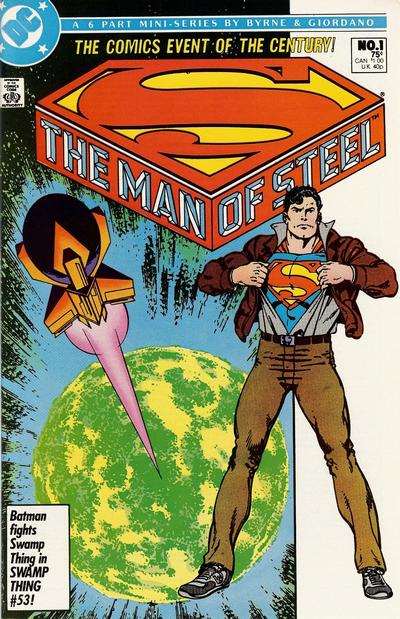 Cover for The Man of Steel (DC, 1986 series) #1 [Standard Cover]