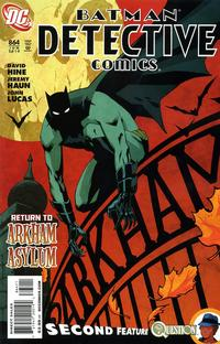 Cover for Detective Comics (DC, 1937 series) #864