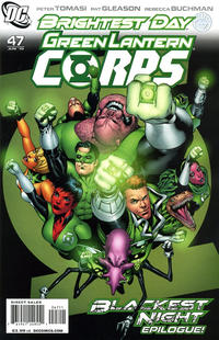 Cover Thumbnail for Green Lantern Corps (DC, 2006 series) #47