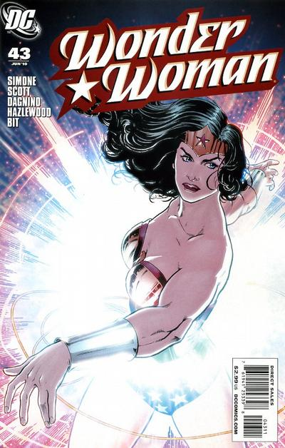 Cover for Wonder Woman (2006 series) #43