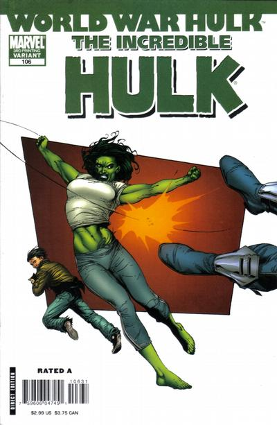 Cover for Incredible Hulk (2000 series) #106