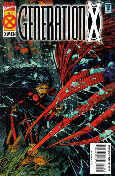 Cover for Generation X (Marvel, 1994 series) #3 [Deluxe Edition]
